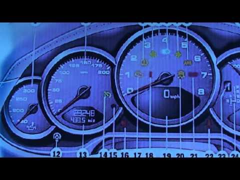 Porsche 911 997 Dashboard Warning Lights & Symbols - Diagnostic Code Readers & Scanners