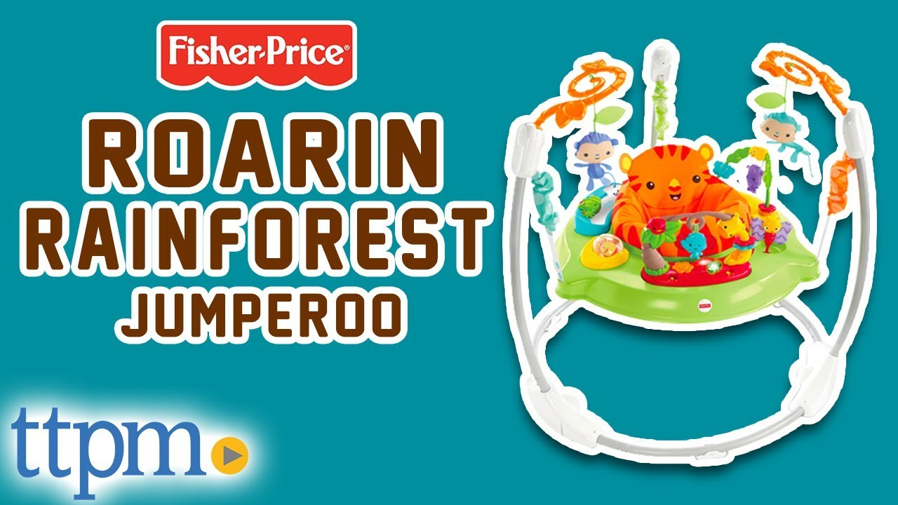 c280e15b77e2 Fisher Price Roarin  Rainforest Jumperoo  Review  - Baby Jumpers ...