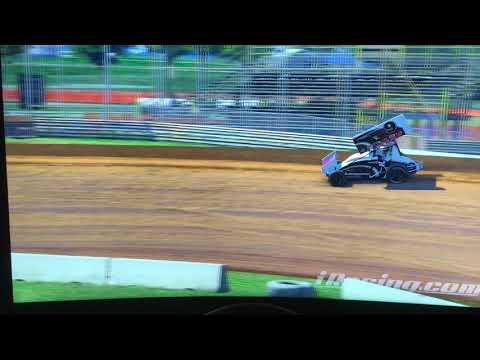 Lernerville Speedway 410 sprint car