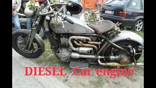 Diesel Car Engine Bikes !