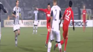 Partizan Belgrade vs Augsburg 1 3 Highlights & Goals 2015 16 Europa League