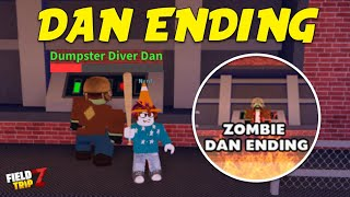 Field Trip Z DAN ENDING Boss Full Guide (Zombie Dan Badge)