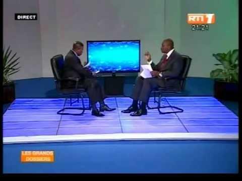 """Hamed Bakayoko, Ministre de l'intérieur invité de l'émission """"Les Grands Dossiers"""" sur RTI1"""