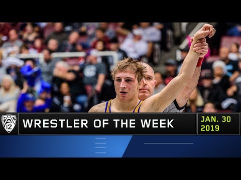 CSU Bakersfield's Sean Nickell grabs Pac-12 Wrestler of the Week honors after earning his first...
