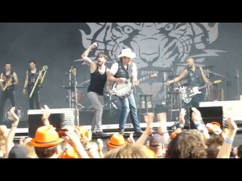 The BossHoss - Word Up - Live @ Rock The Ring, Hinwil 21.6.15
