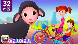 Repeat youtube video Little Bo Peep Has Lost Her Sheep and Many More Videos | Popular Nursery Rhymes By ChuChu TV