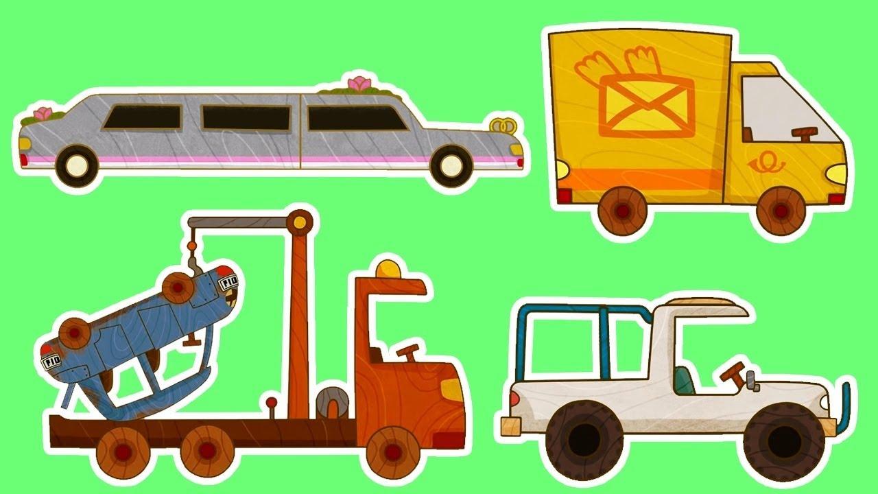 Мультики - МАШИНКИ - Все серии подряд - Фургон, Лимузин ...