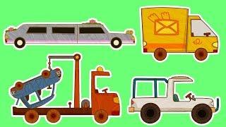 Download Мультики - МАШИНКИ - Все серии подряд - Фургон, Лимузин, Автокран и другие машинки Mp3 and Videos