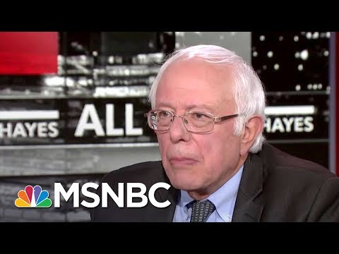 Bernie Sanders Reacts To Hillary Clinton's New Book | All In | MSNBC