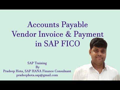 Accounts Payable In SAP FICO | Vendor Invoice In SAP FICO | Vendor Payment | Outgoing Payment In SAP