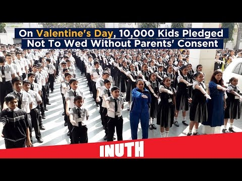 On Valentine's Day, 10,000 Kids Pledged Not To Wed Without Parents' Consent Mp3