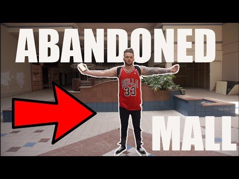 ABANDONED MALL In MARYLAND *PLUS MOVIE THEATRE*