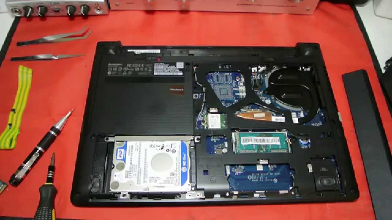 Lenovo G40 Ram Upgrade Replacement Youtube Parts And
