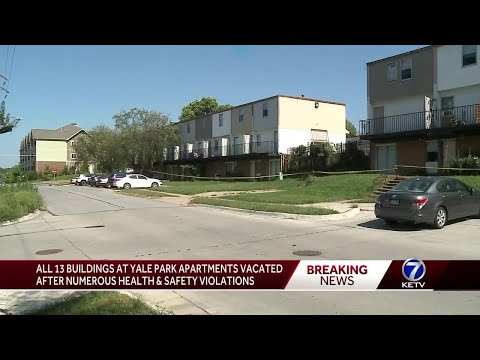 Hundreds evacuated from Omaha apartment complex: 'Astronomical amount of unsanitary conditions'