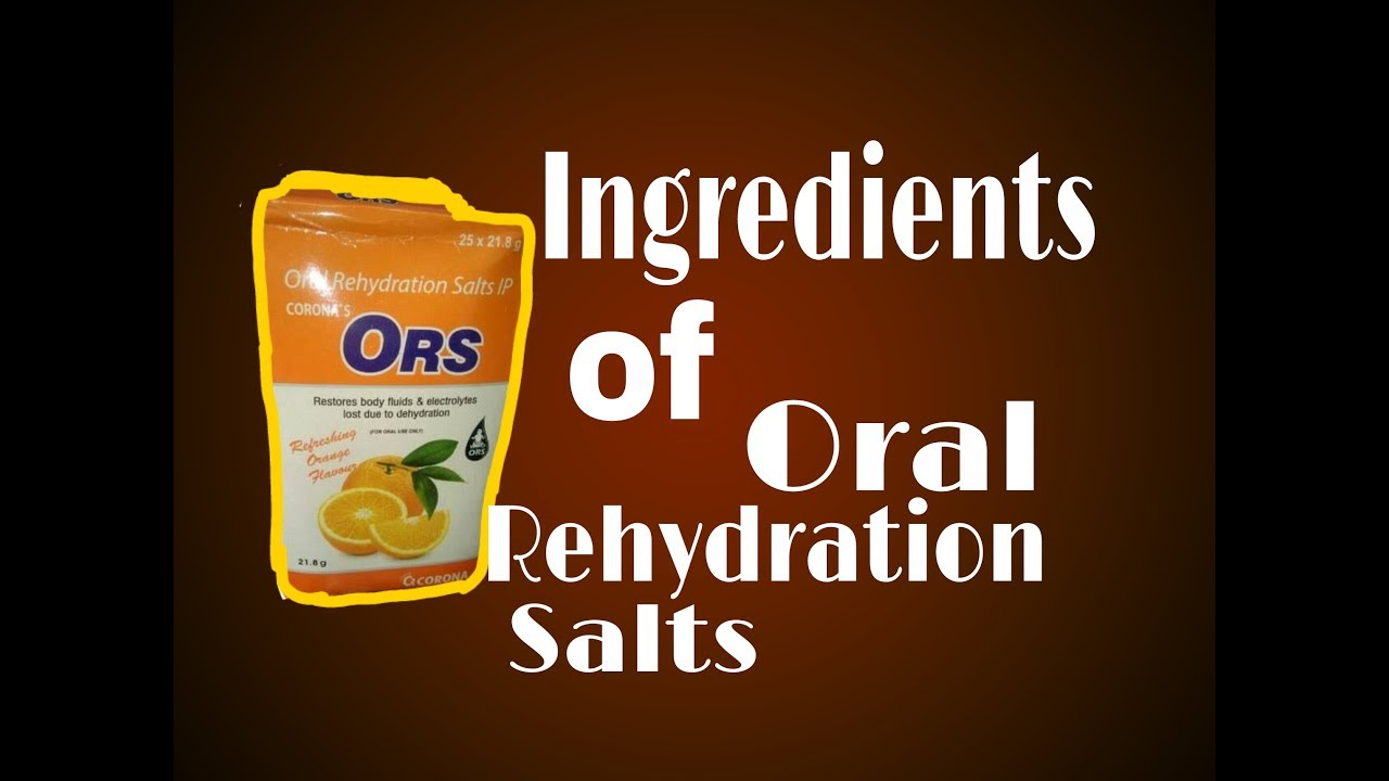 oral rehydration salts ors - 1280×720