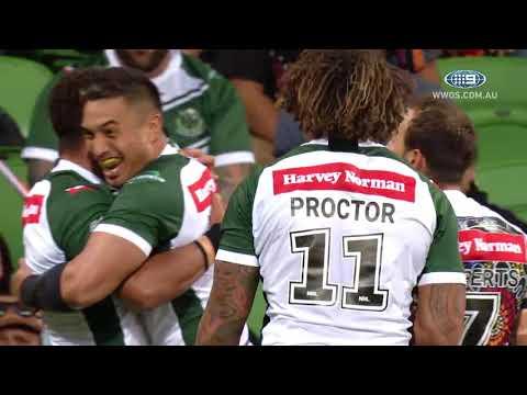 NRL Highlights: Indigenous All Stars v Maori All Stars | NRL on Nine