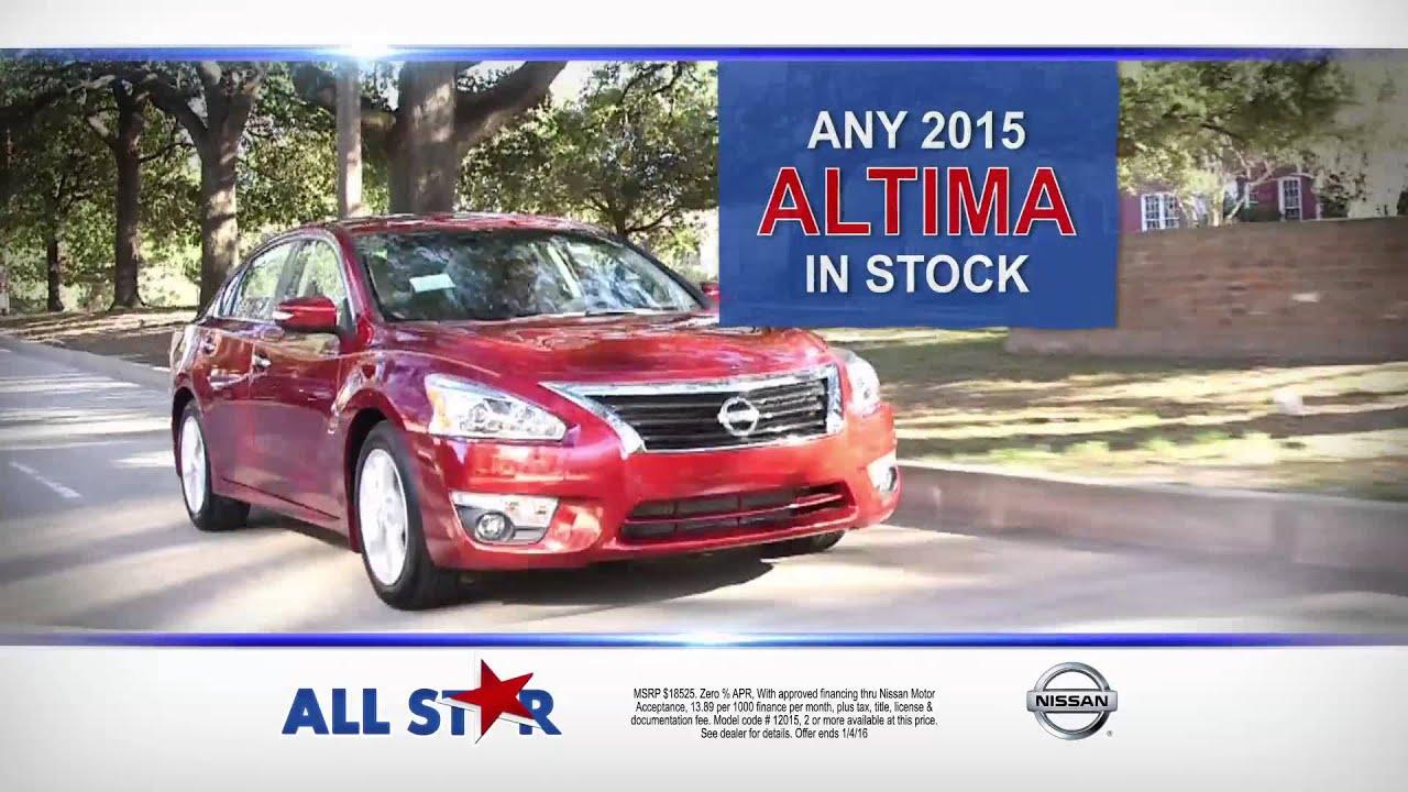 Charming All Star Nissan   Nissan Holiday Event   2015 Nissan Altima Baton Rouge, LA