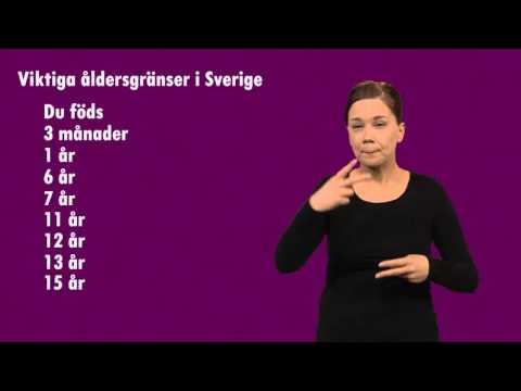 när man fyller år Viktiga åldersgränser i Sverige   Barnombudsmannen när man fyller år