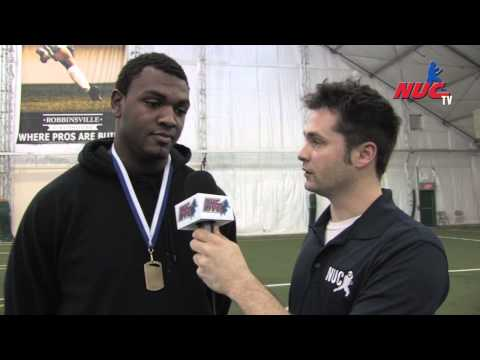 NUC - 5 Star Showcase East - NJ 2012 - Andrew Brown - DL MVP - National Underclassmen
