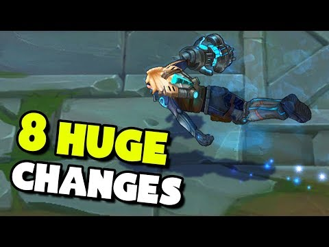 Top 8 HUGE Changes Coming To League of Legends! thumbnail