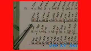 GUITAR: KA bài hạ Nhạc Lễ đọc bản từ câu 23 - 36 (tập 6)