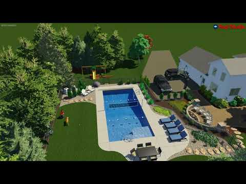 Mequon, WI -Inground Pool Concept Video R2