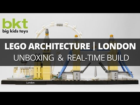 Lego Architecture London Skyline 21034 – Unboxingand Live Real-Time Build Review