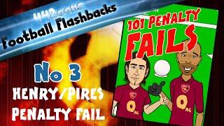 ❗️Henry/Pires Penalty FAIL❗️ Football Flashbacks No 3! (Arsenal vs Man City 2005/2006)