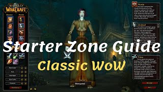 Undead Starter Zone Guide in WoW Classic (Patch 1.12.1)