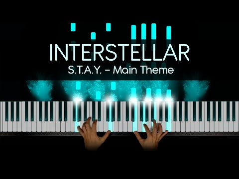 Hans Zimmer - Interstellar Piano - First Step - Main Theme Cover by Pkeys + Sheet Music + MIDI