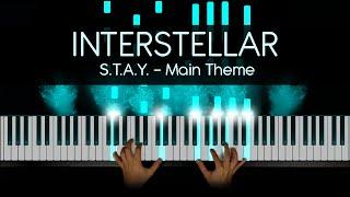 Hans Zimmer Interstellar Piano First Step Main Theme By Pkeys Sheet Music Midi