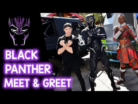 Meeting Black Panther & Dora Milaje  Disney California Adventure