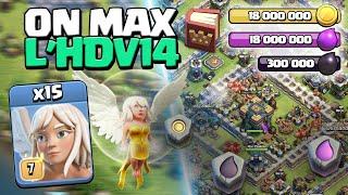 ON MAX L'HDV14 ! Épisode 3 ! Clash of Clans