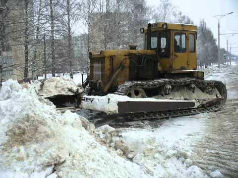 T-170B dozer tractor pushin