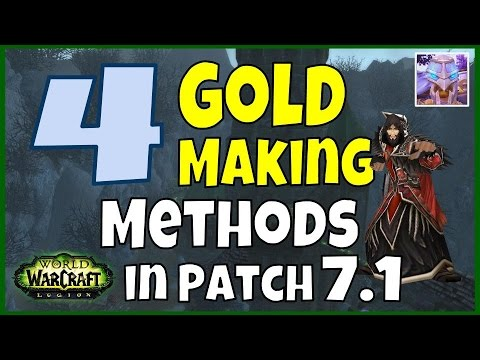 4 Legion Gold Making Methods Coming to WoW in Patch 7.1