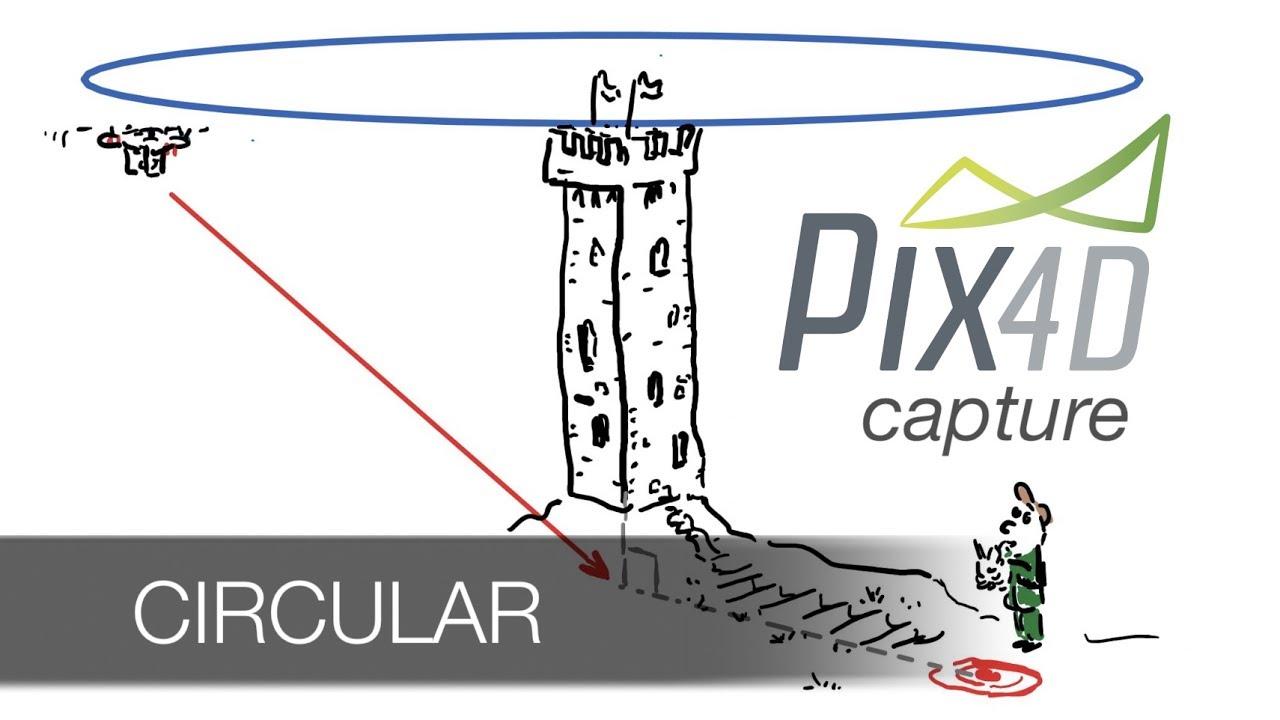 PIX4D Capture - the Circular mission