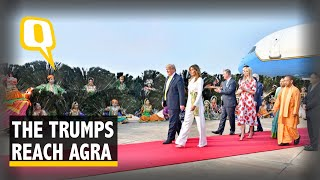 Namaste Trump LIVE: US President Arrives in Agra For Second Leg of India Tour