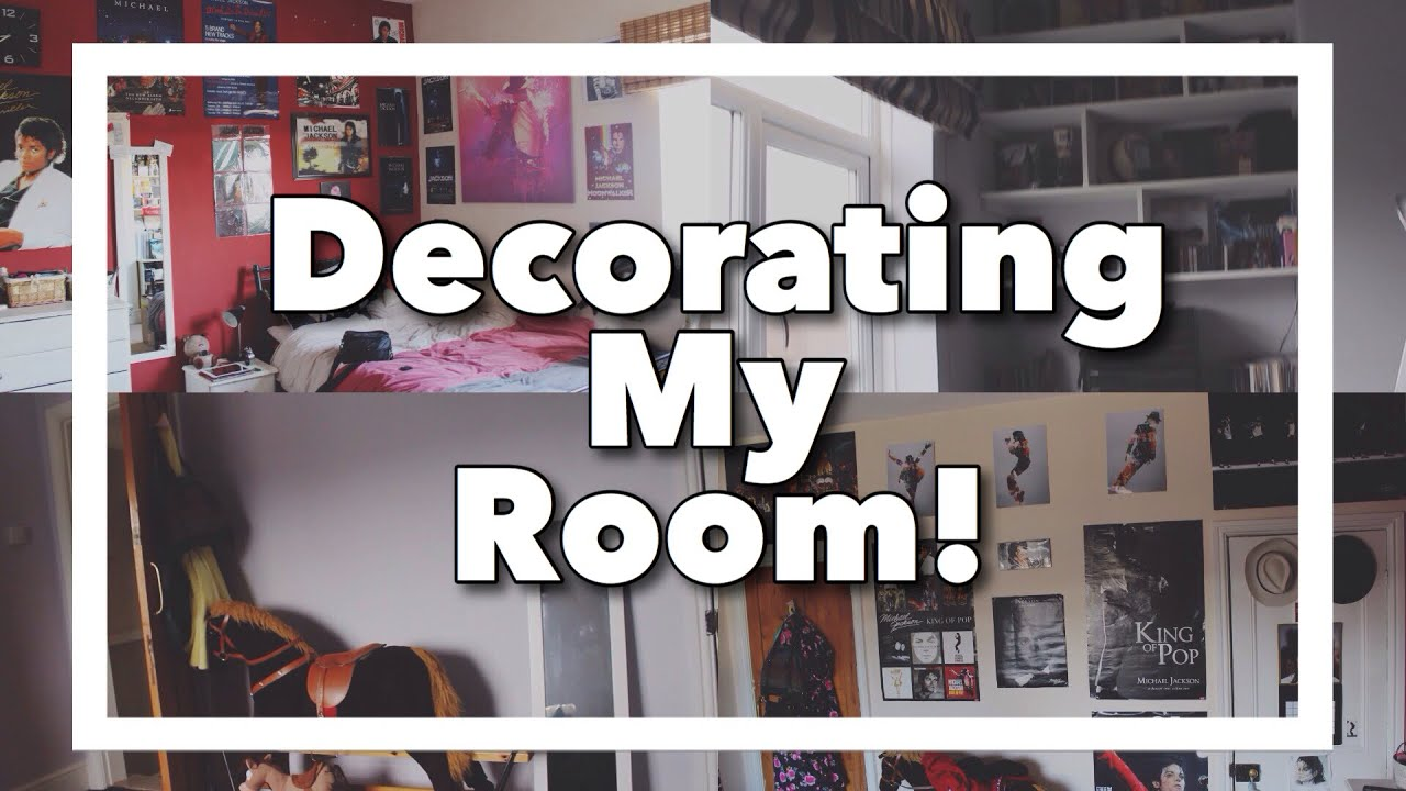 Decorating My Bedroom! - YouTube