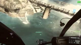 Battlefield 4 Test Range - Brincando com o Little Bird