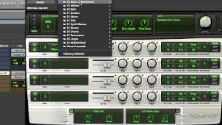 Pro Tools 8 Xpand 2 sound demo