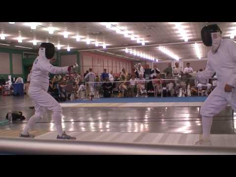Gerring-McGovern, US Champ 2008 Vet 50 Epee bout