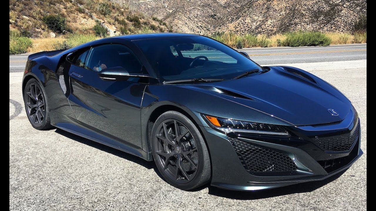 2018 Acura NSX   (Street) One Take