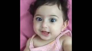 Cute little babies funny expressions Must watch
