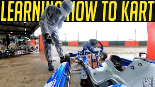 Learning How To Drive an X30 Race Kart