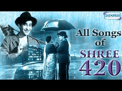 Shree 420  All Songs  Raj Kapoor  Nargis  Nadira  Mukesh  Asha Bhosle  Manna Dey