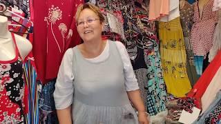 Идём на рынок . Почем фрукты , овощи ? Купили летние платья для дома.