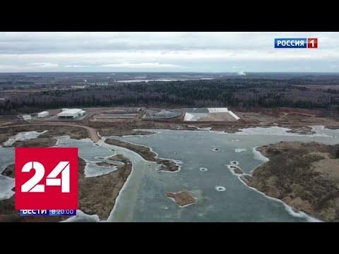 С карты Подмосковья исчезнет еще один мусорный полигон - Россия 24