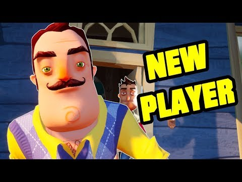 MY NEW PLAYER IS THE NEIGHBOR - Hello Neighbor Mod