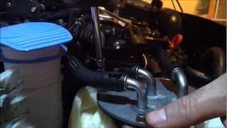 2012 - 2014 Passat TDI - Fuel Filter Change Procedure