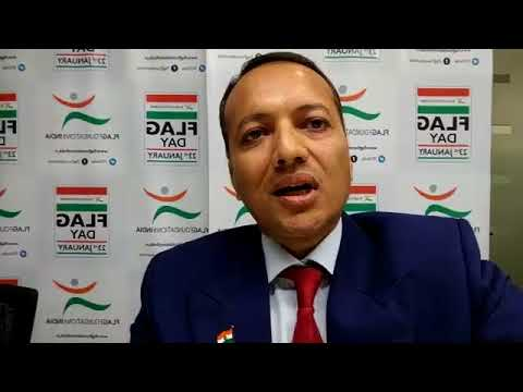 Naveen Jindal Talks about Flag Day